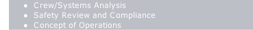 Crew/Systems Analysis